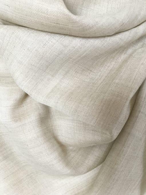 laine cachemire ivoire