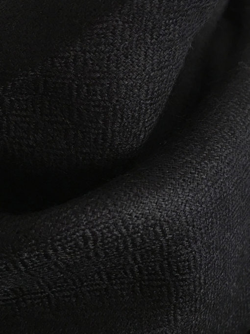 laine cachemire noir