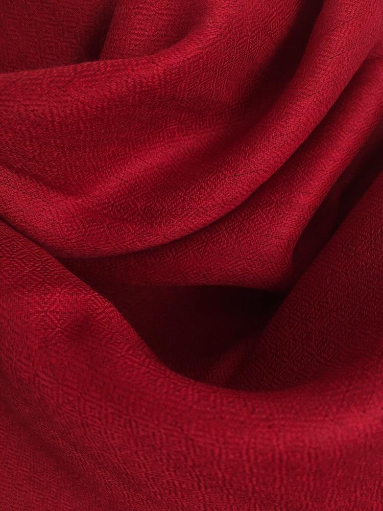 laine cachemire rouge